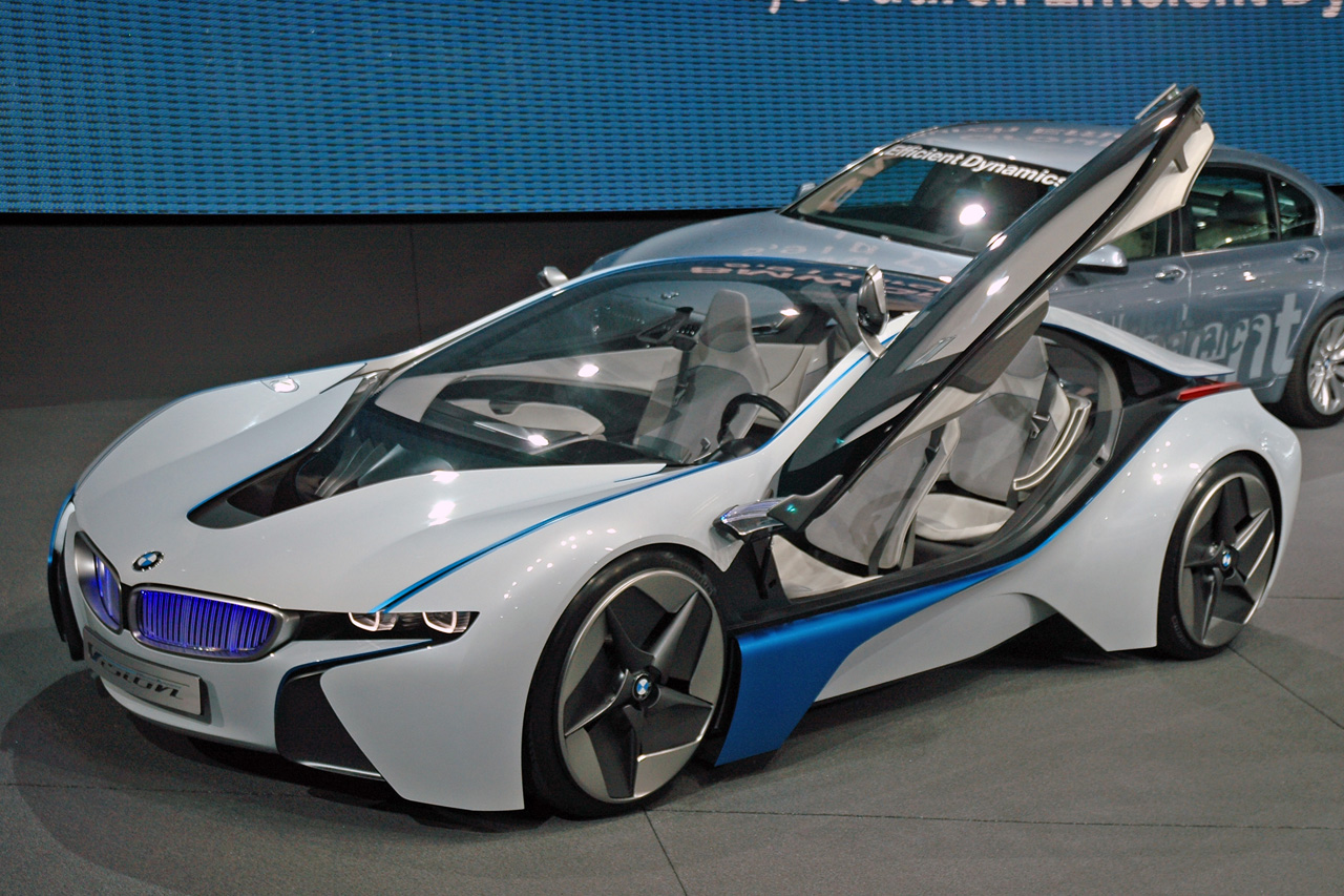 BMW Vision Efficient Dynamics: 4 фото