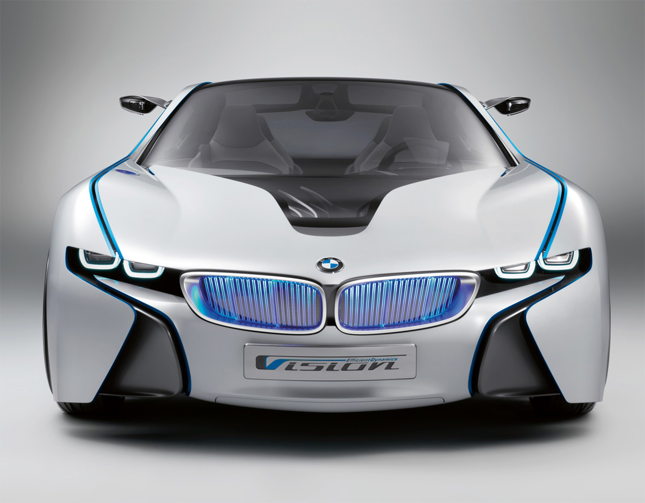 BMW Vision Efficient Dynamics: 8 фото