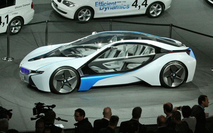 BMW Vision Efficient Dynamics - 750 x 469, 10 из 18