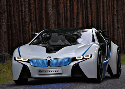 BMW Vision Efficient Dynamics: 11 фото