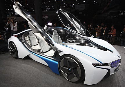 BMW Vision Efficient Dynamics: 12 фото