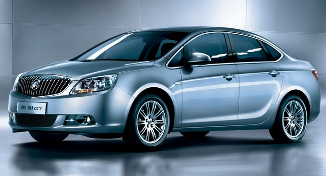 Buick Excelle: 3 фото