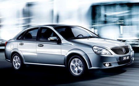Buick Excelle: 6 фото