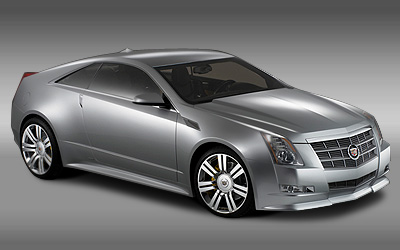 Cadillac CTS Coupe: 1 фото