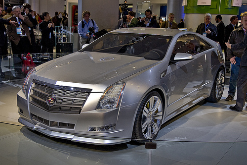 Cadillac CTS Coupe: 2 фото