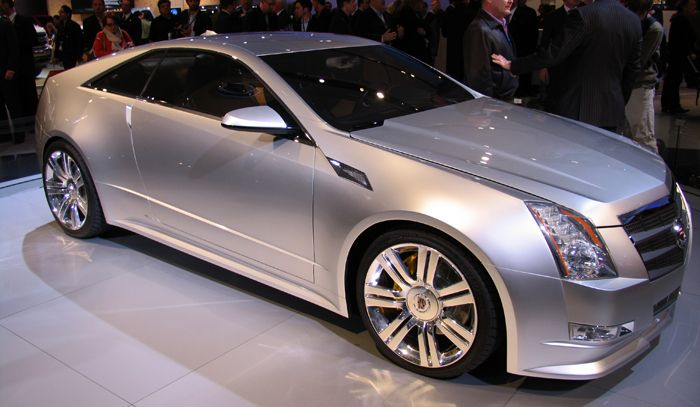 Cadillac CTS Coupe: 3 фото