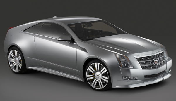 Cadillac CTS Coupe: 4 фото