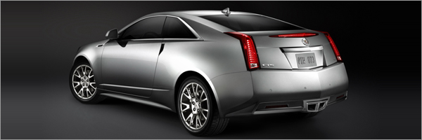 Cadillac CTS Coupe: 8 фото