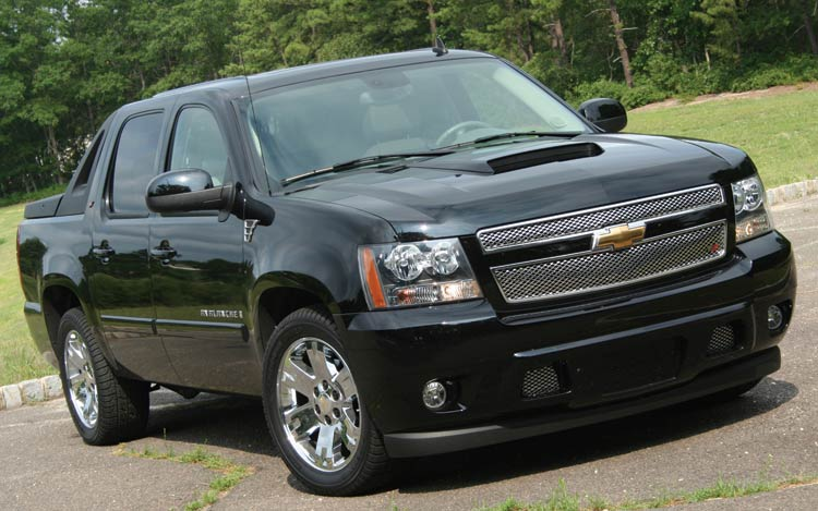 Chevrolet Avalanche: 6 фото