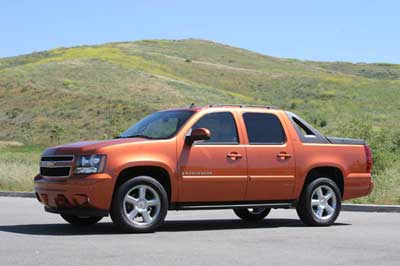 Chevrolet Avalanche: 9 фото