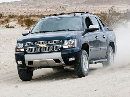 Chevrolet Avalanche: 11 фото