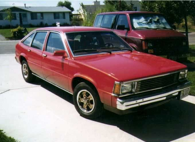 Chevrolet Citation: 2 фото