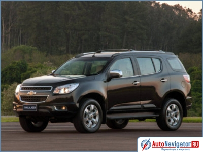 Chevrolet TrailBlazer: 7 фото