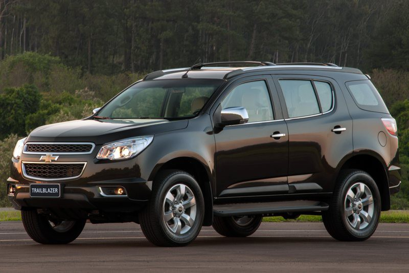 Chevrolet TrailBlazer: 12 фото