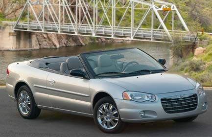 Chrysler Sebring Convertible: 1 фото