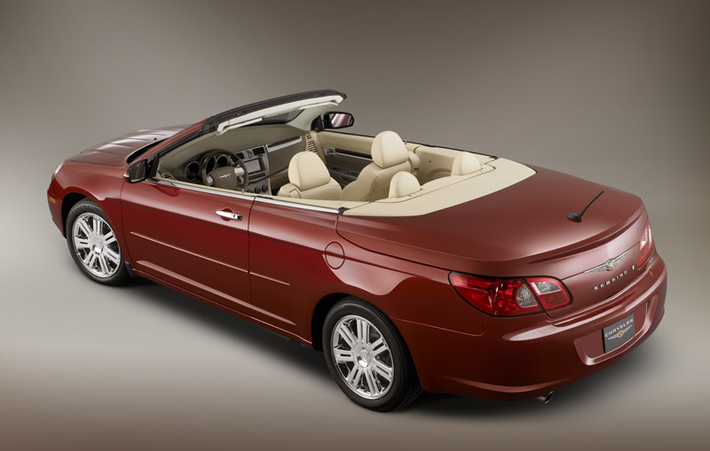Chrysler Sebring Convertible: 4 фото