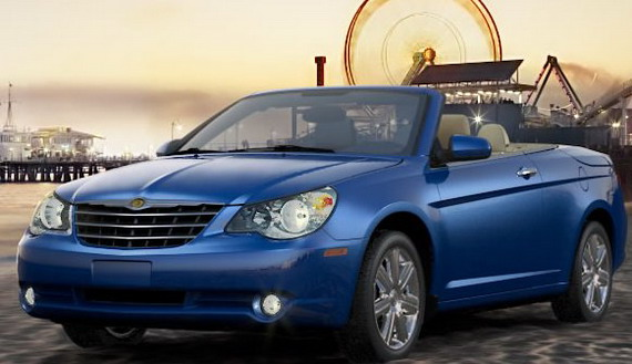 Chrysler Sebring Convertible: 7 фото