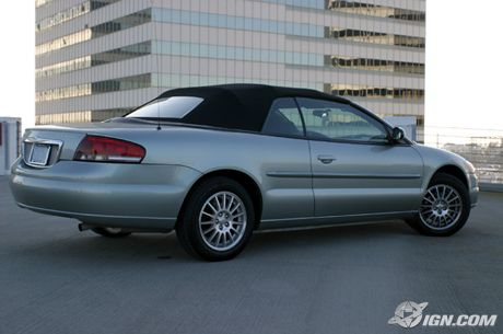 Chrysler Sebring Convertible: 9 фото