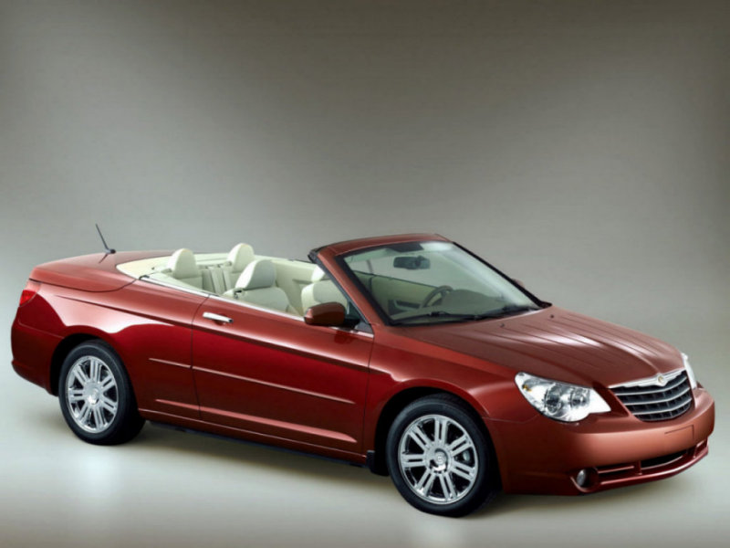 Chrysler Sebring Convertible: 11 фото