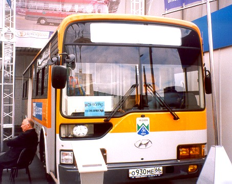 hyundai aero city 540 характеристики