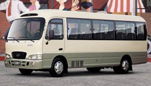 Hyundai County Long: 10 фото