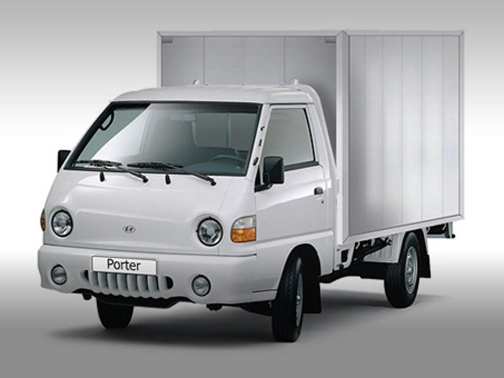 Hyundai Porter — оптимальный вариант для малогабаритных грузоперевозок