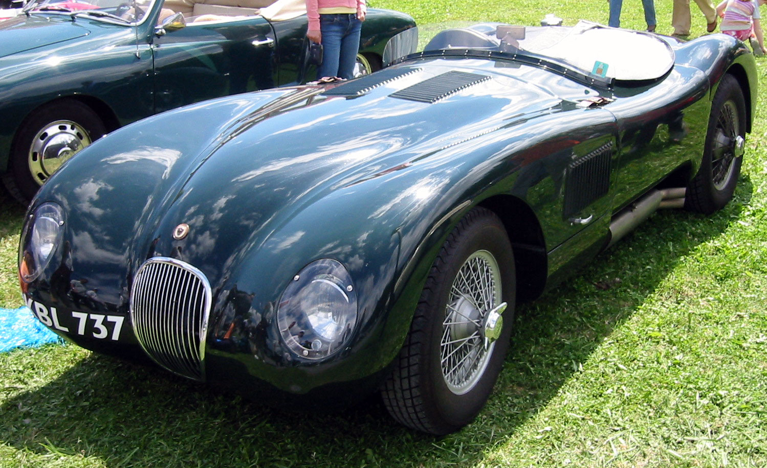 Jaguar C-Type: 3 фото