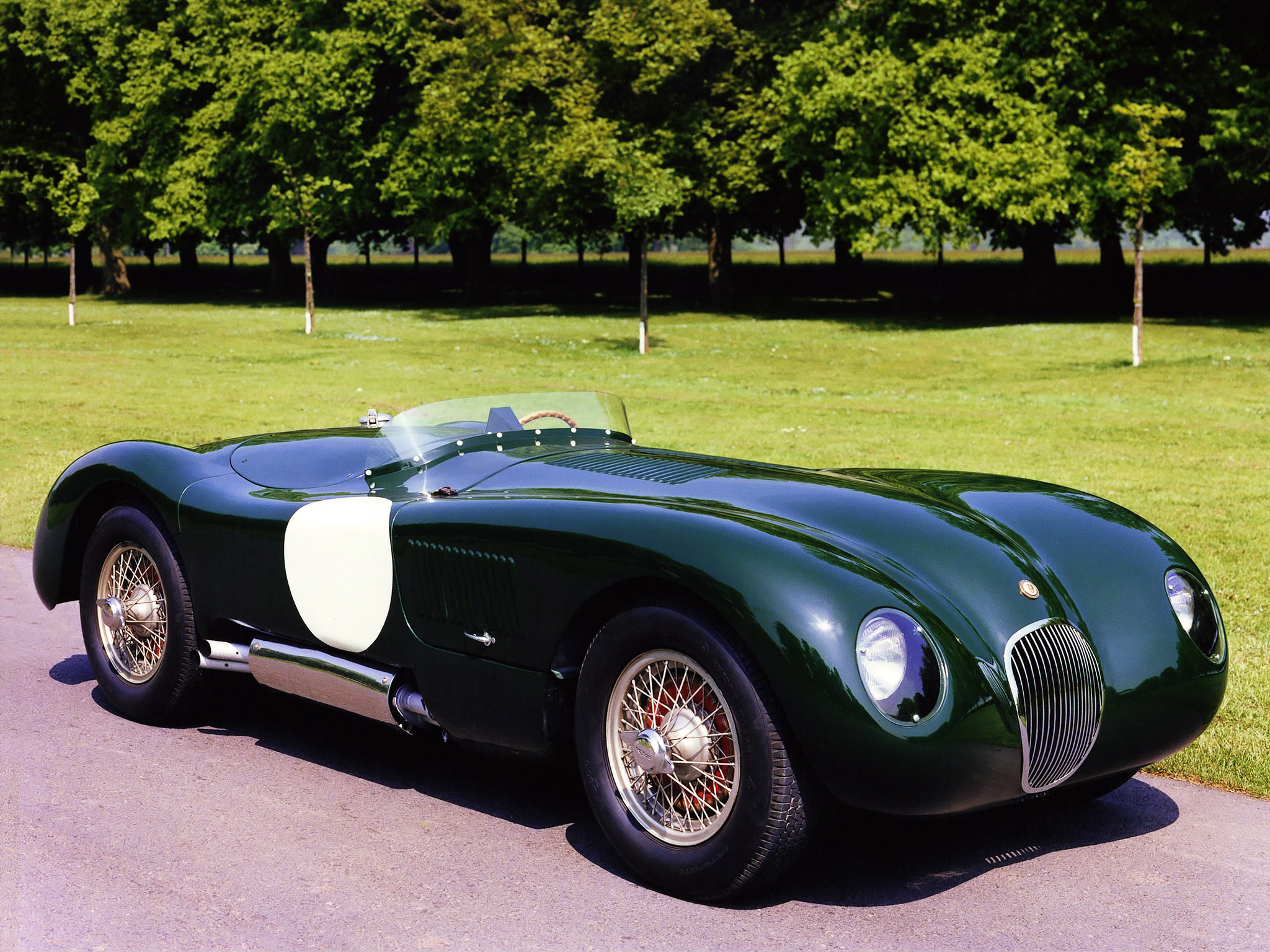 Jaguar C-Type: 6 фото
