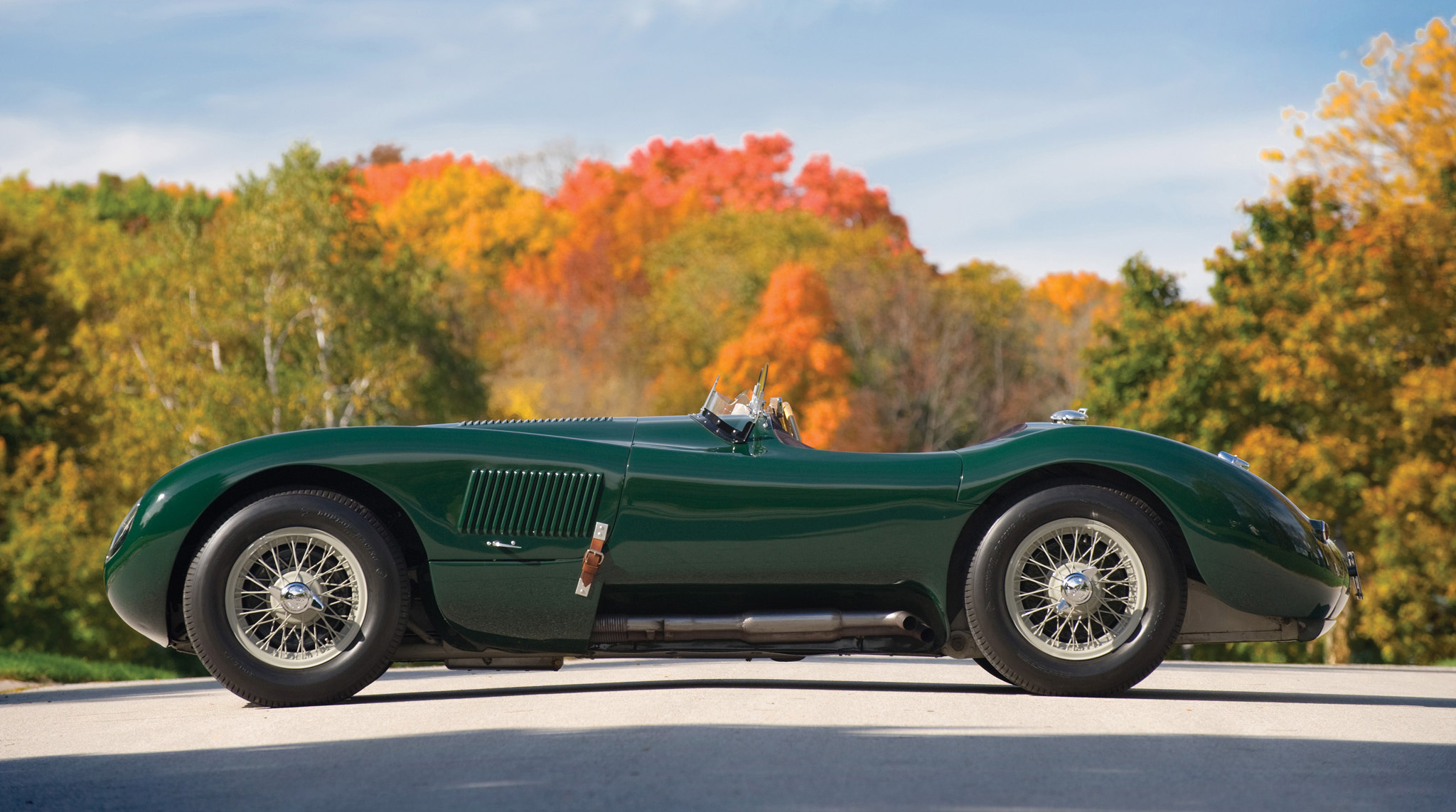Jaguar C-Type: 7 фото