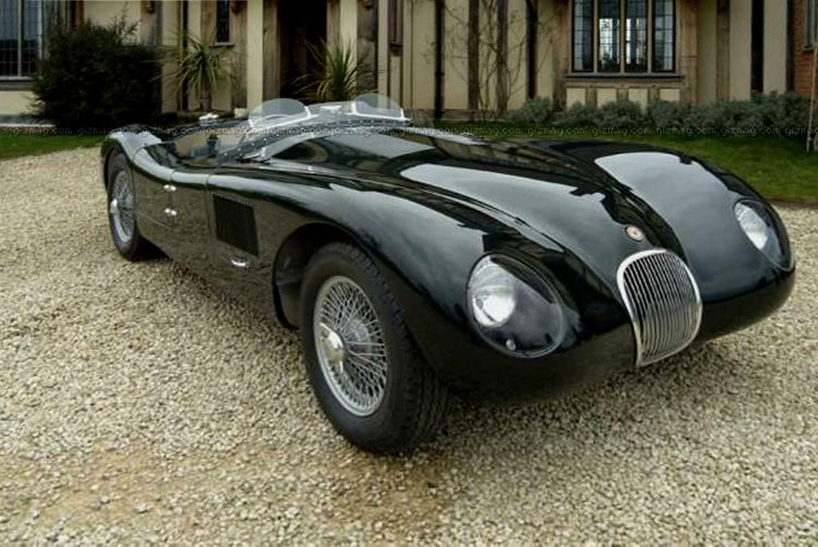 Jaguar C-Type: 9 фото