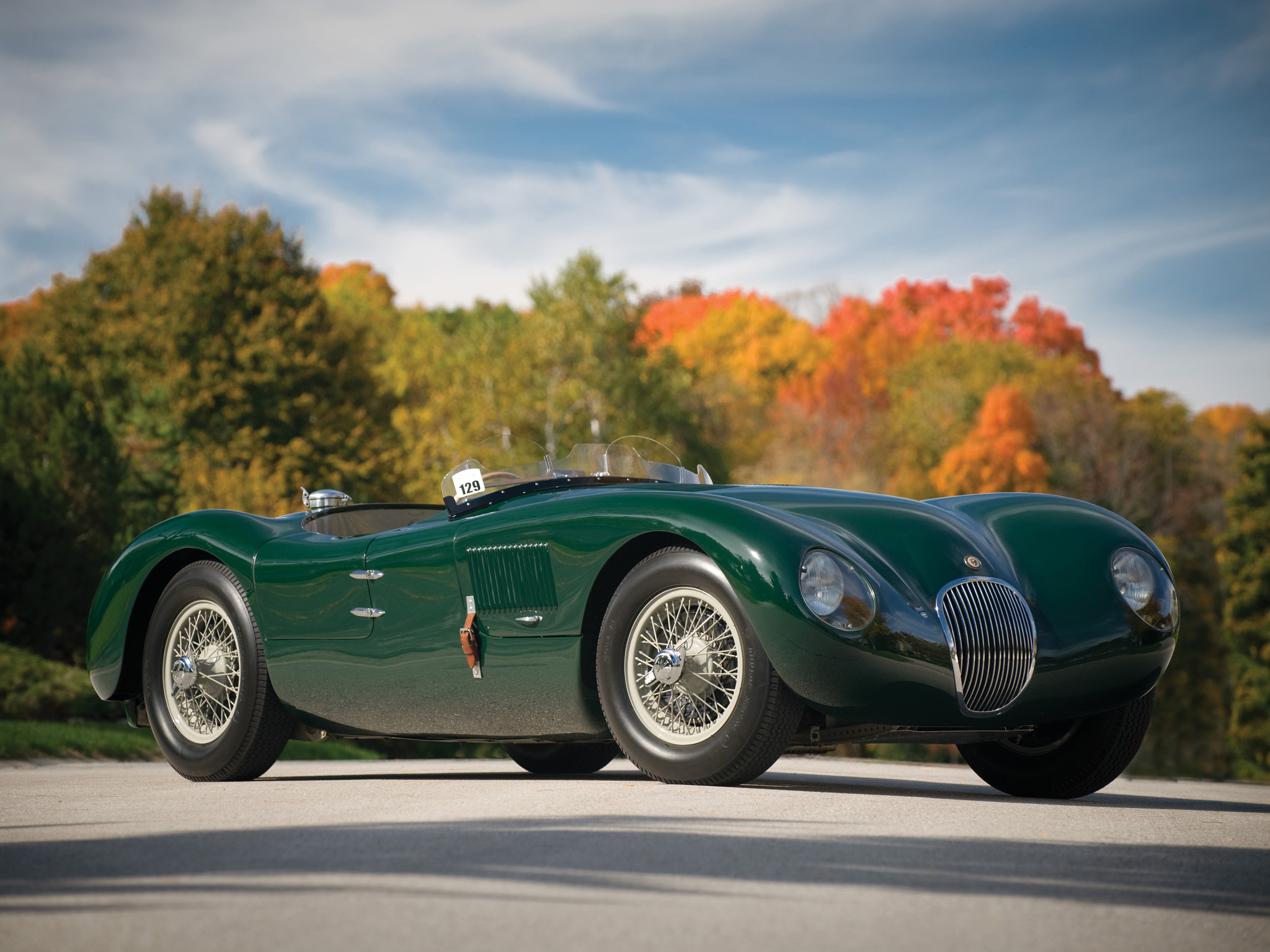 Jaguar C-Type: 10 фото