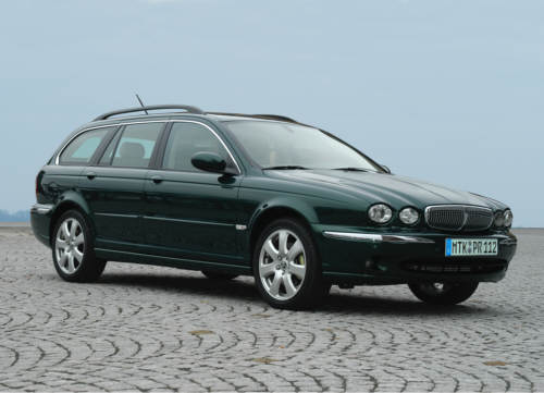 Jaguar X-Type Estate: 10 фото
