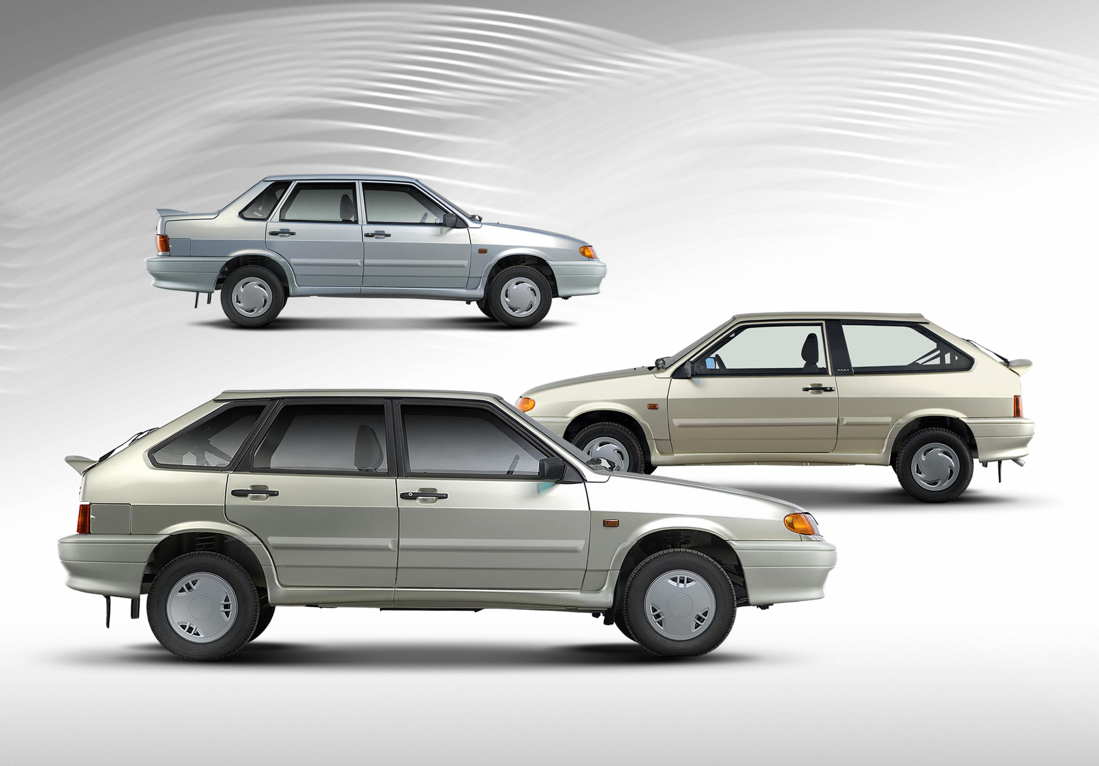 Фото модельный ряд автомобилей лада 3
