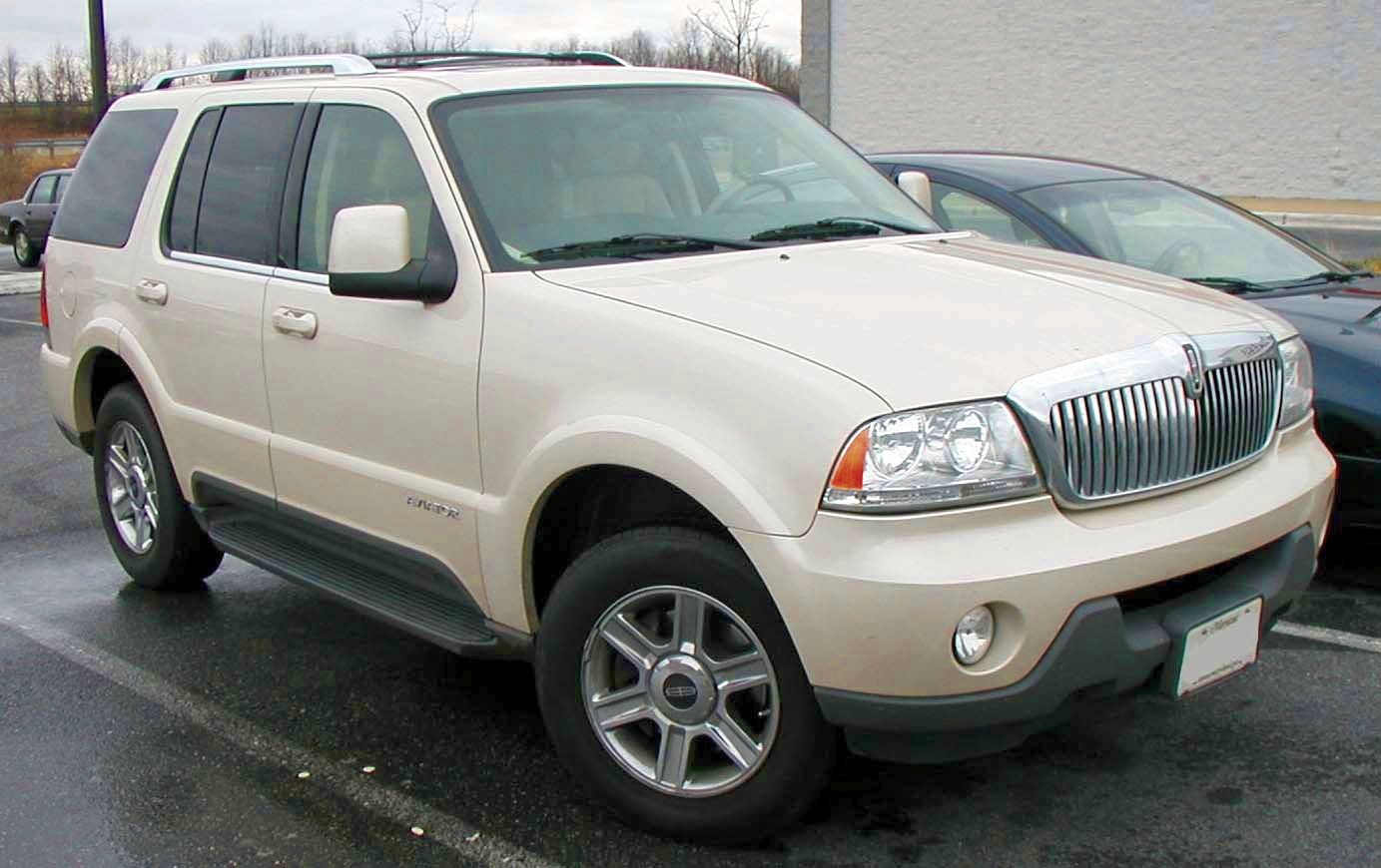 Lincoln Aviator: 4 фото