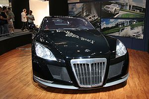 Maybach Exelero: 2 фото