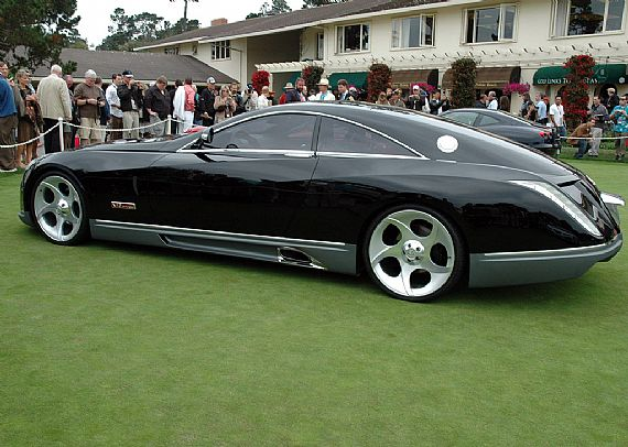 Maybach Exelero: 4 фото