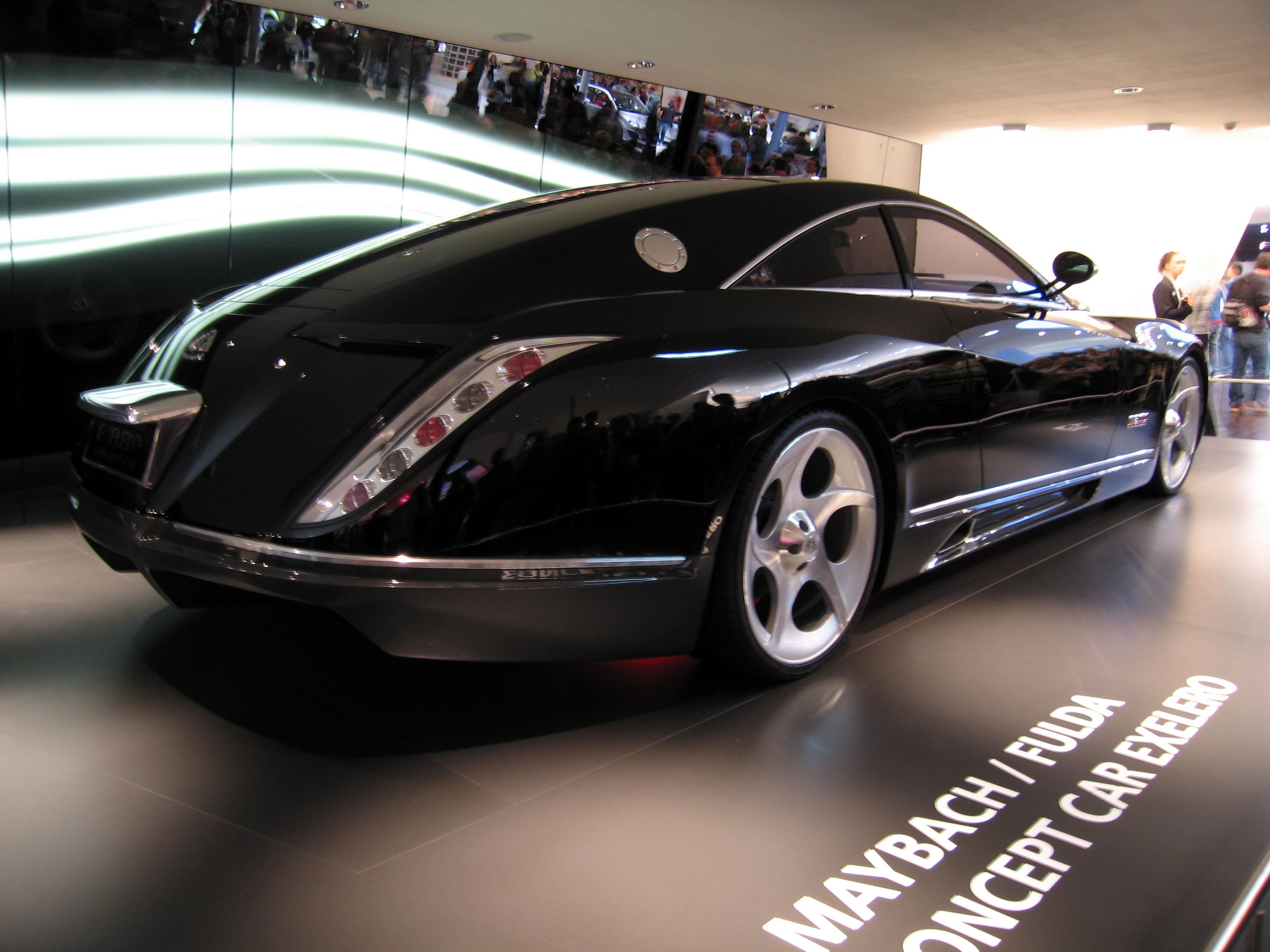 Maybach Exelero: 5 фото