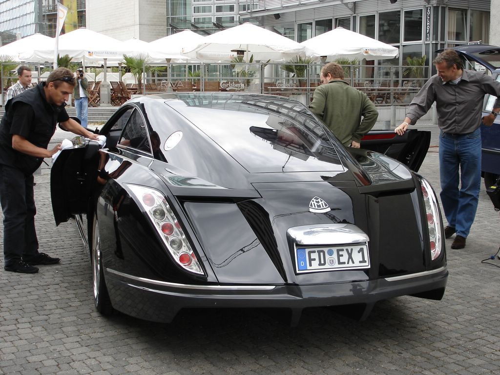 Maybach Exelero: 9 фото
