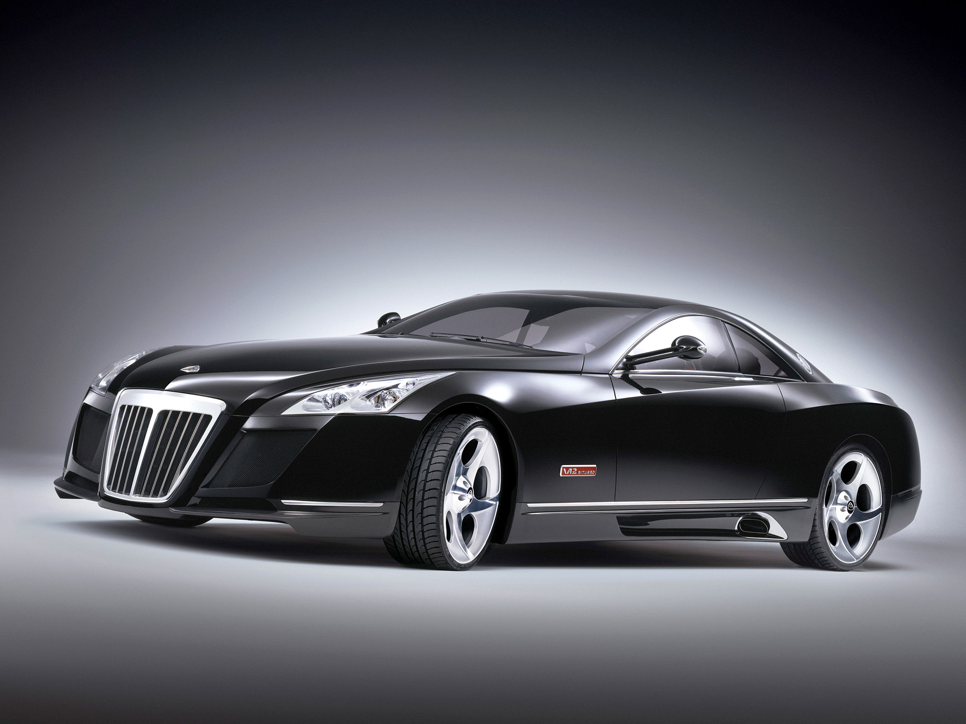 Maybach Exelero: 10 фото