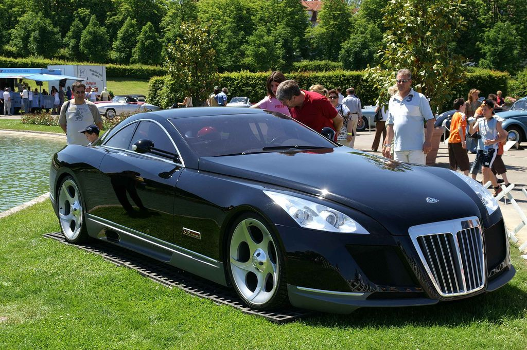 Maybach Exelero: 11 фото