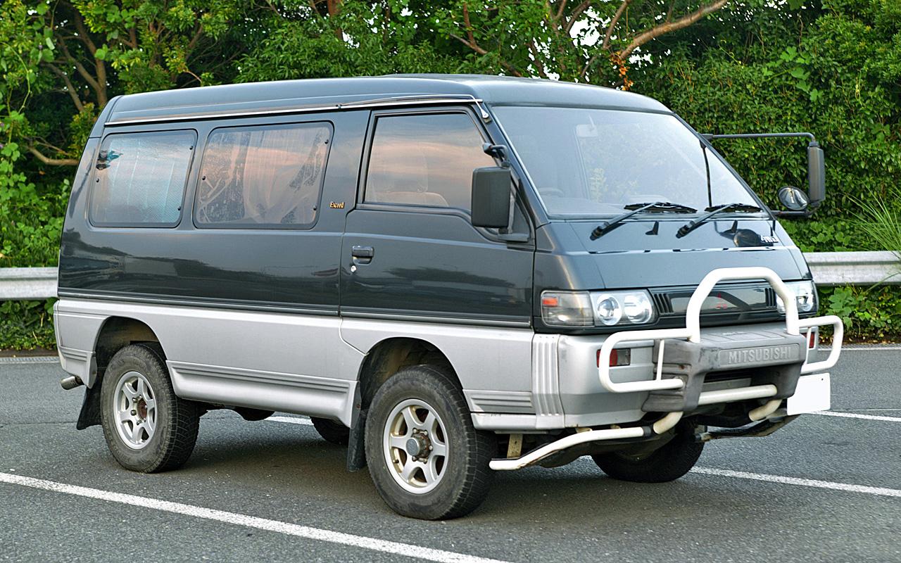 Mitsubishi delica 02 фото размер 1280 x 800 px mitsubishi