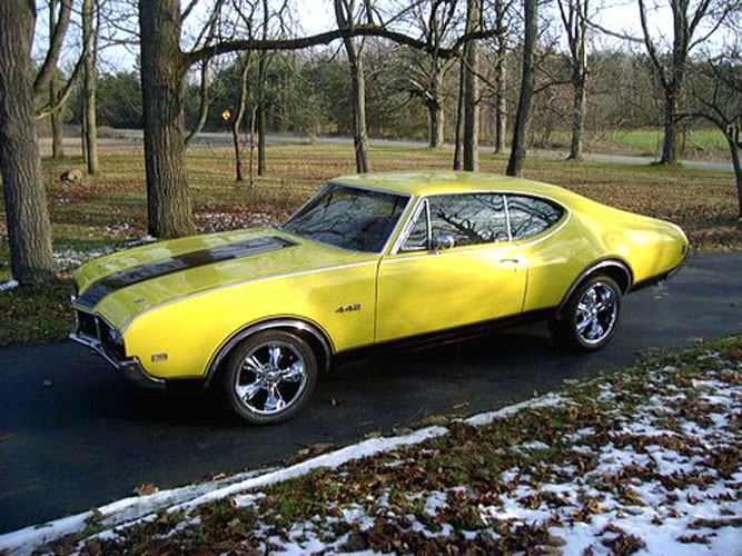 Oldsmobile Cutlass 442: 4 фото