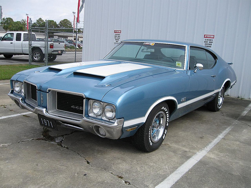 Oldsmobile Cutlass 442: 9 фото