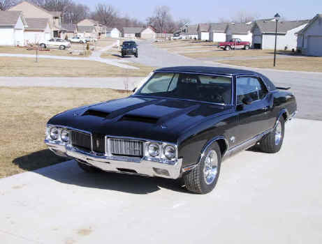 Oldsmobile Cutlass 442: 11 фото
