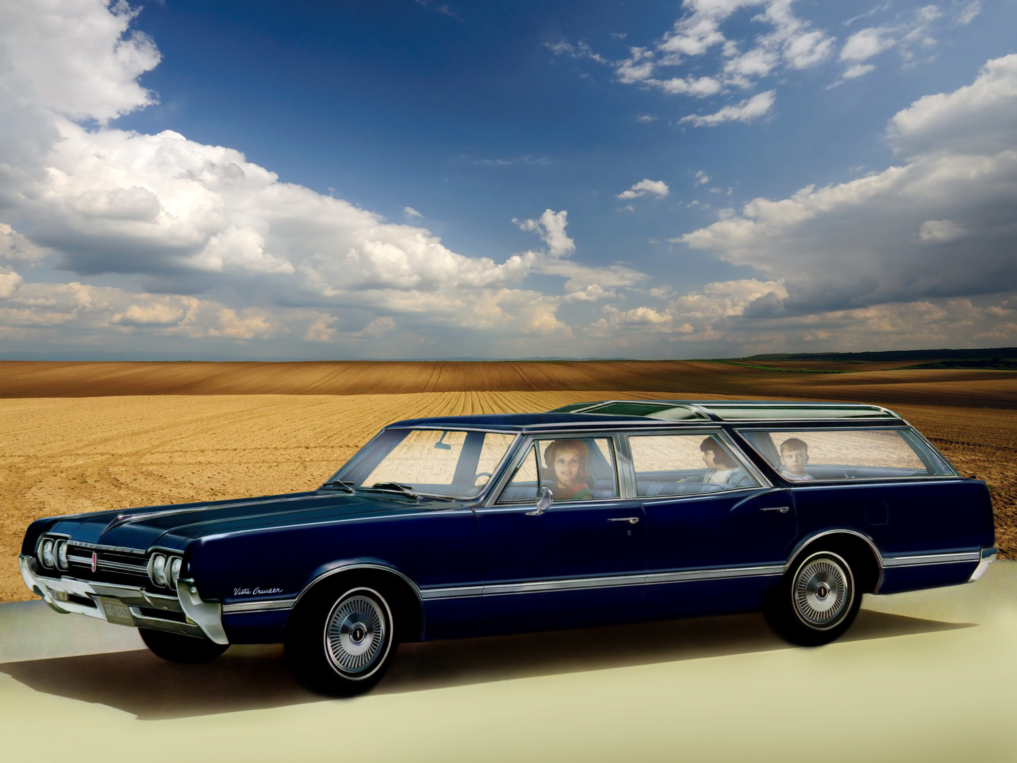 Oldsmobile Vista Cruiser: 3 фото