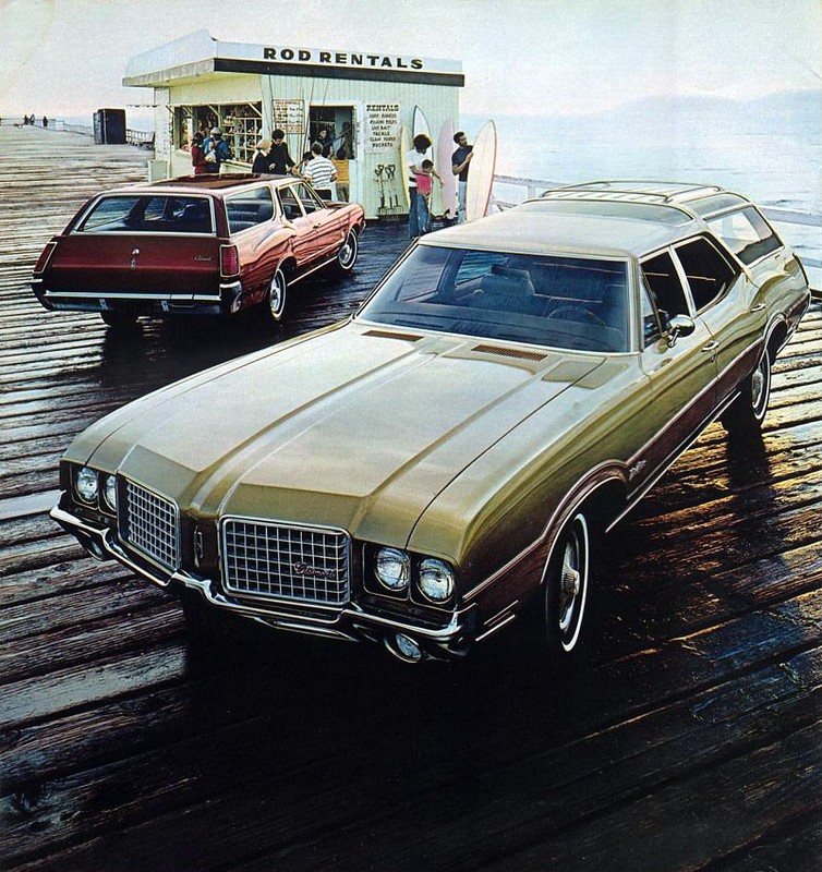 Oldsmobile Vista Cruiser: 7 фото