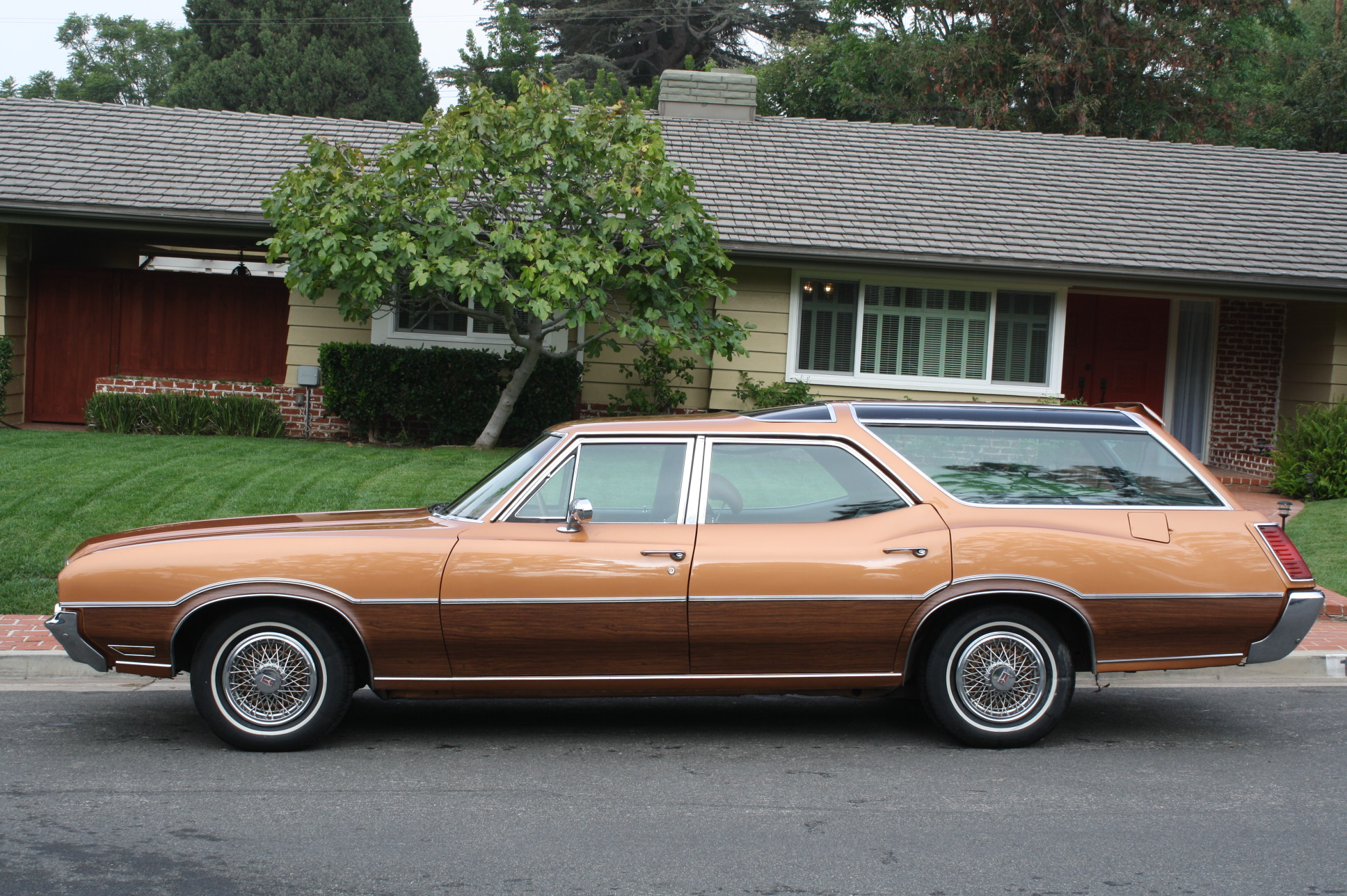 Oldsmobile Vista Cruiser: 10 фото