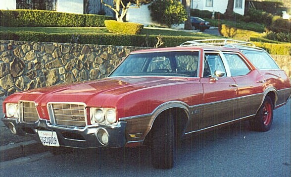 Oldsmobile Vista Cruiser: 11 фото