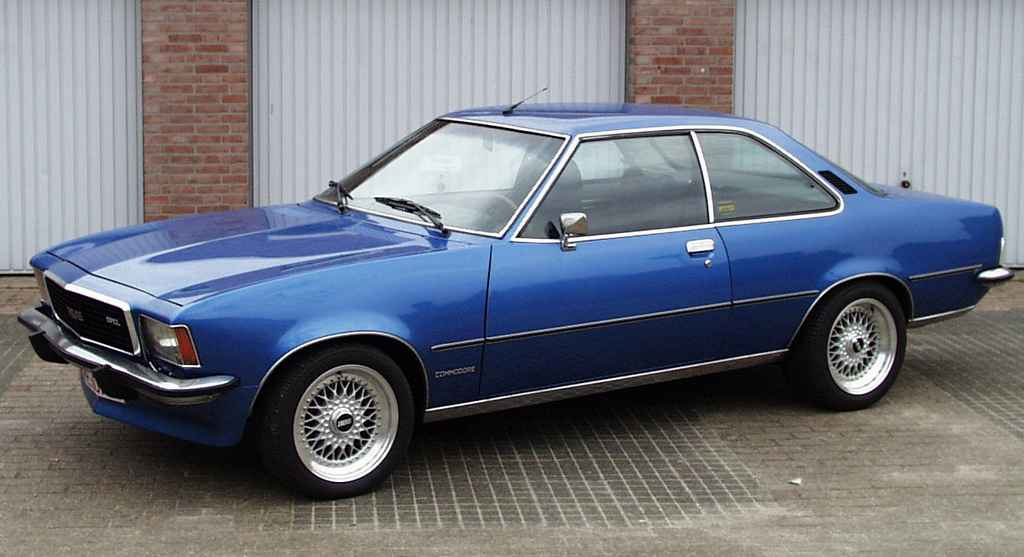 Opel Commodore: 1 фото