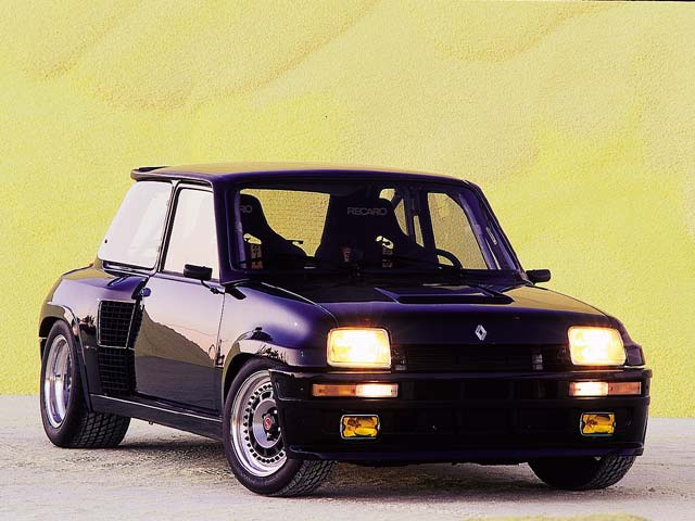 Renault 5 Turbo: 2 фото